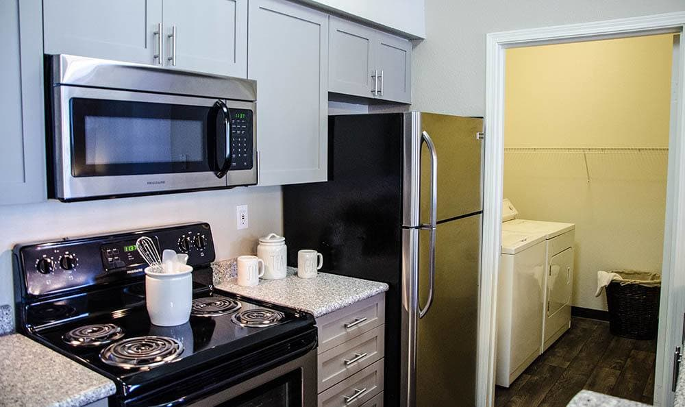 Kitchen at HighGrove Apartments in Everett, WA
