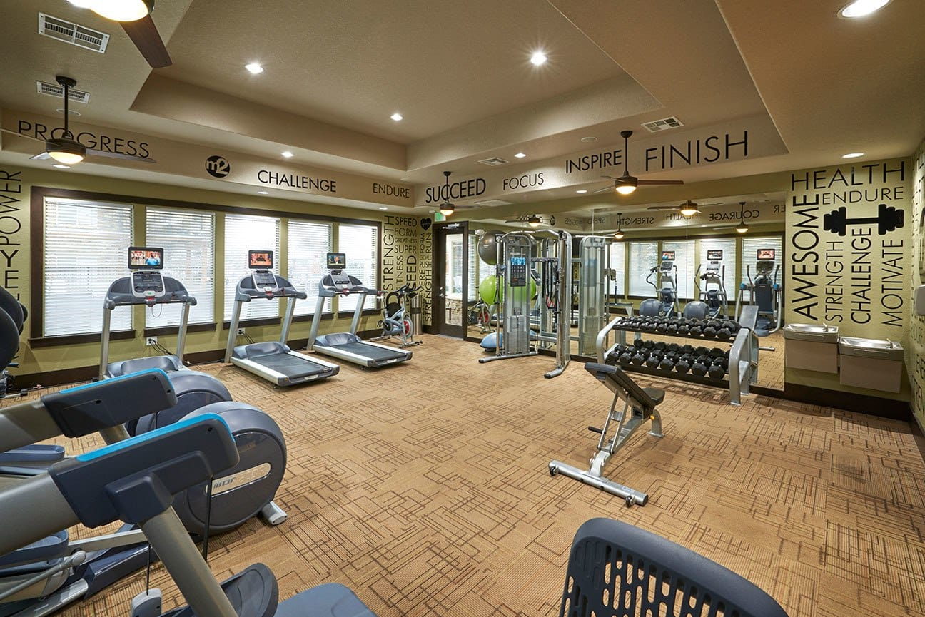 Fitness Center at M2 Apartments