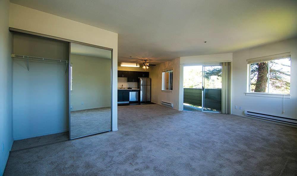 Living Room at Serramonte Ridge Apartment Homes