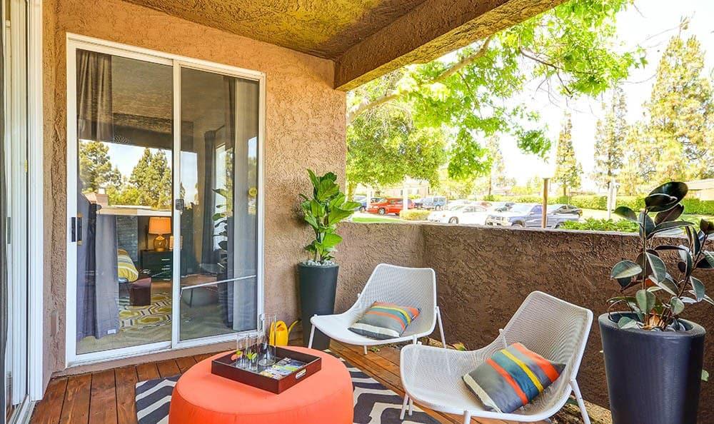 Deck at Sierra Del Oro Apartments