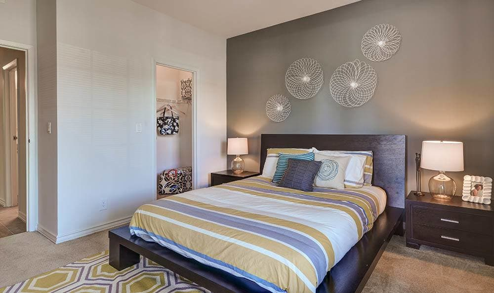 Master Bedroom at Sierra Del Oro Apartments