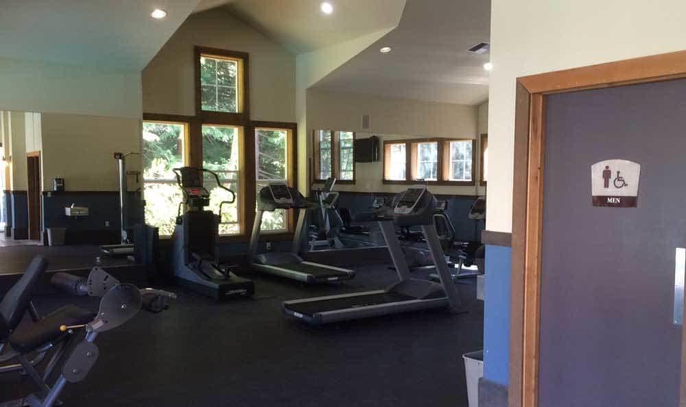 The community fitness center