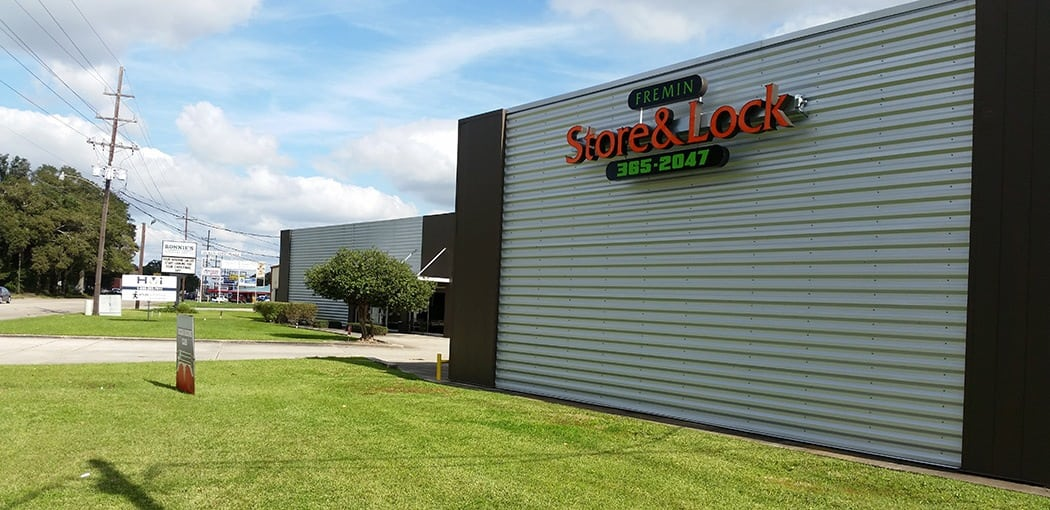 Fremin Store and Lock is a storage facility and commercial office leasing property in our portfolio.