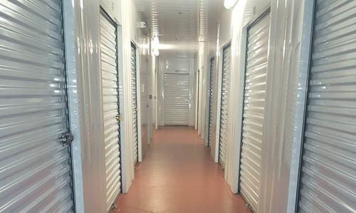 Storage units at DMI Storage