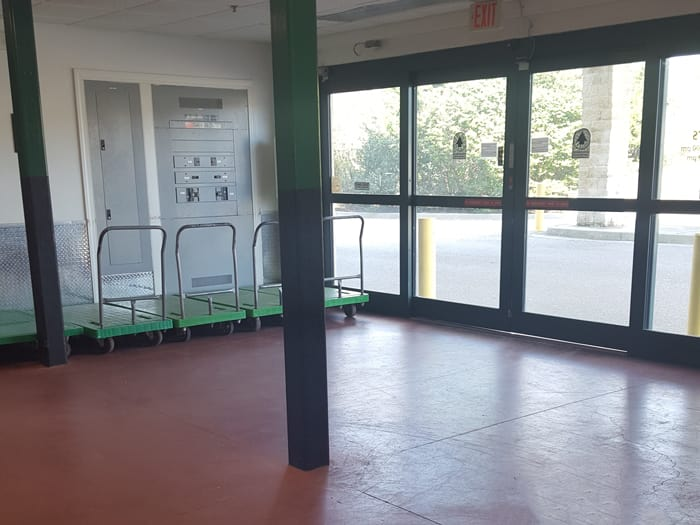 Our Self Storage Facility Offers in Myrtle Beach Storage Offers A Loading Area
