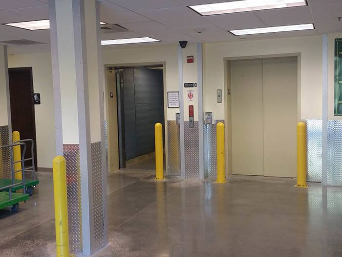 Our Self Storage Facility Offers in Ballantyne Commons Storage Offers A Loading Area
