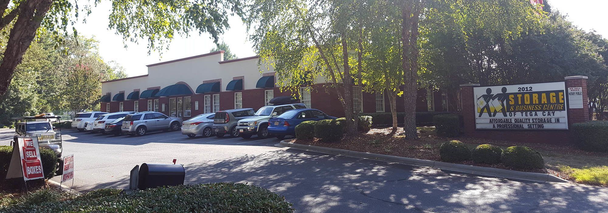 Self storage in Fort Mill SC