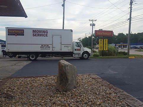 Moving Truck At BinTris Moving and Self Storage - FairPlain In Benton Harbor