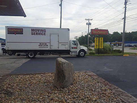 Large Moving Truck At BinTris Moving and Self Storage - Bridgman In Bridgman