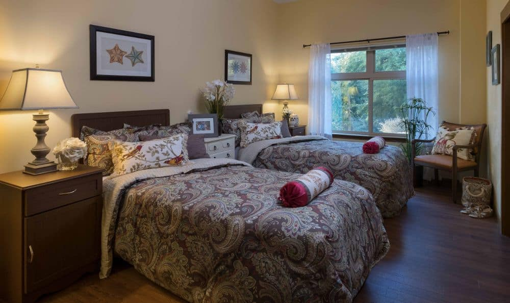 Bedroom at Chandler Memory Care