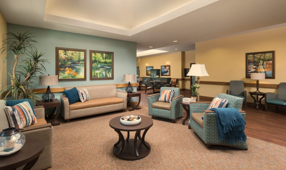 Lobby At Chandler Memory Care
