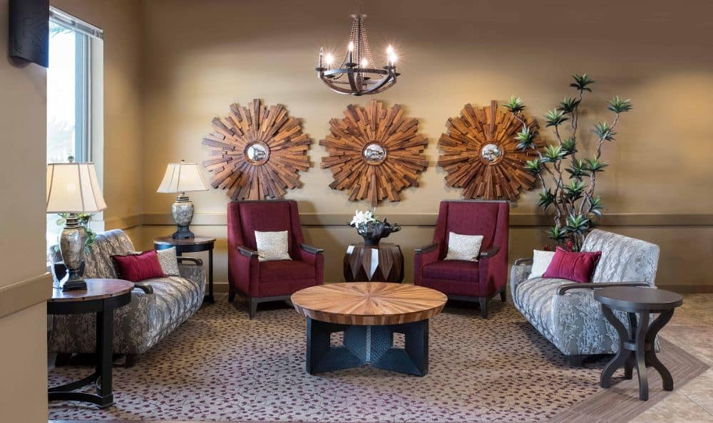 Living room At Chandler Memory Care