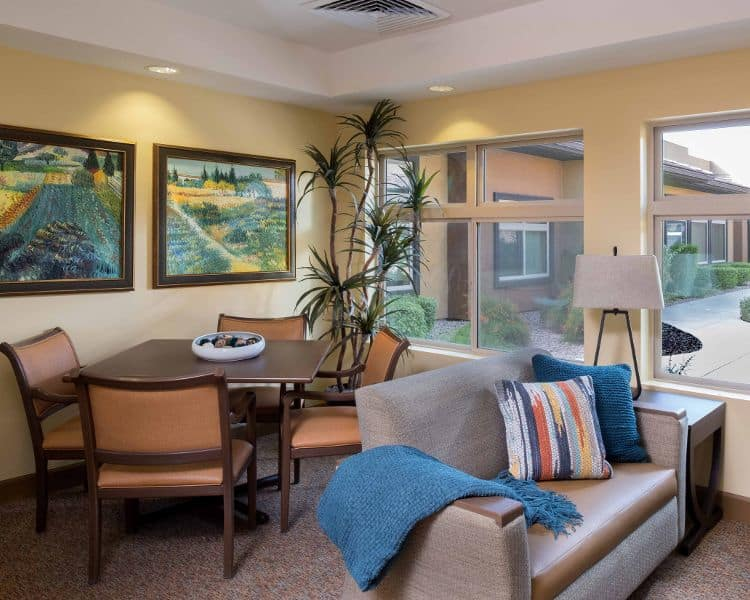 Comfortable room at Chandler Memory Care