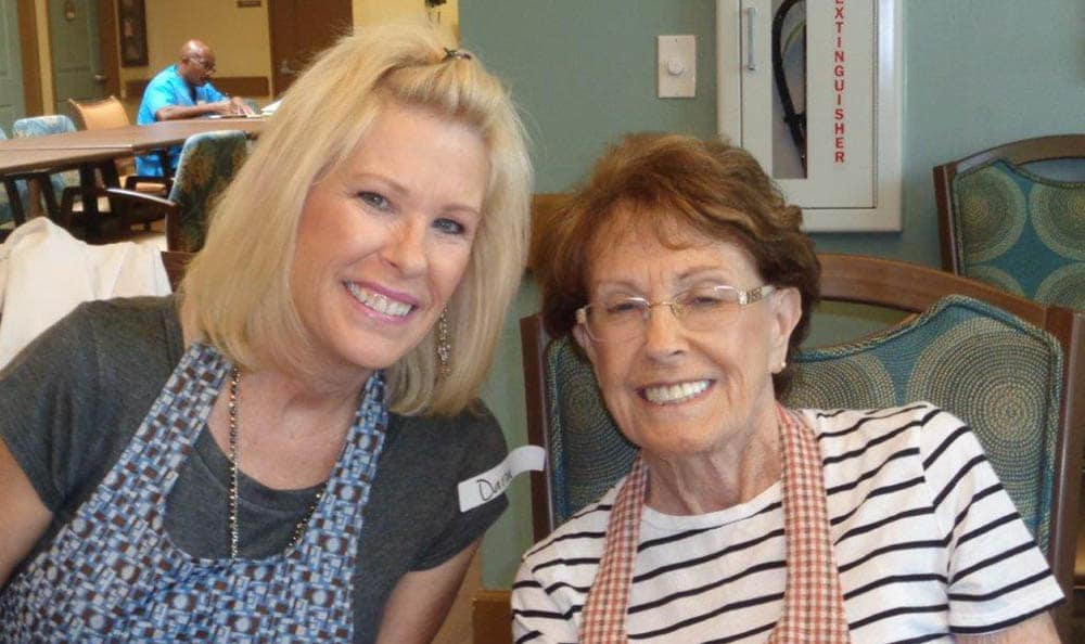 Art Class at Chandler Memory Care