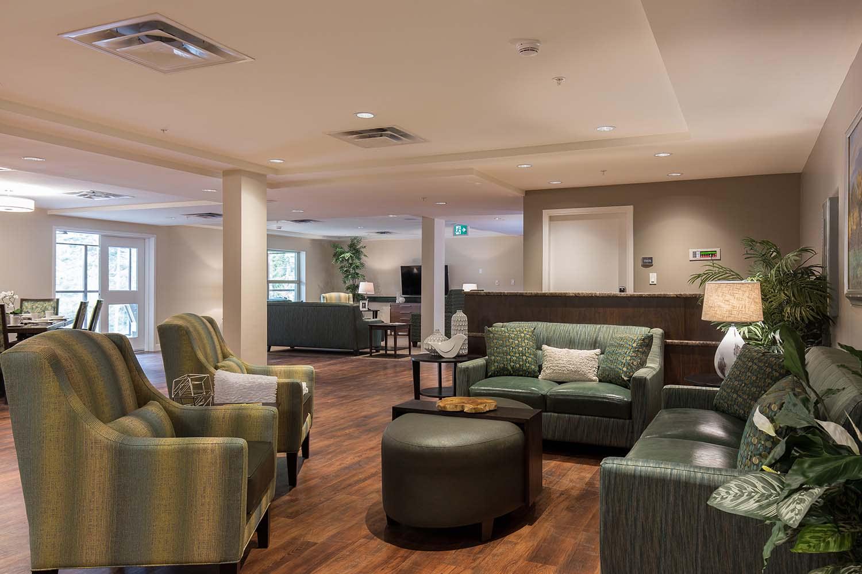 Neighborhood Lounge At Nanaimo Memory Care