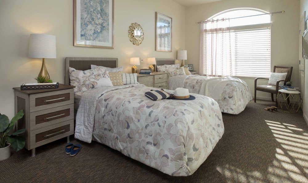 Bedroom Summerlin Memory Care