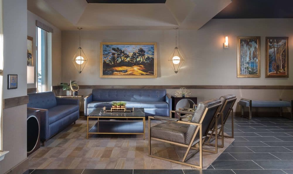 Living room At Summerlin Memory Care