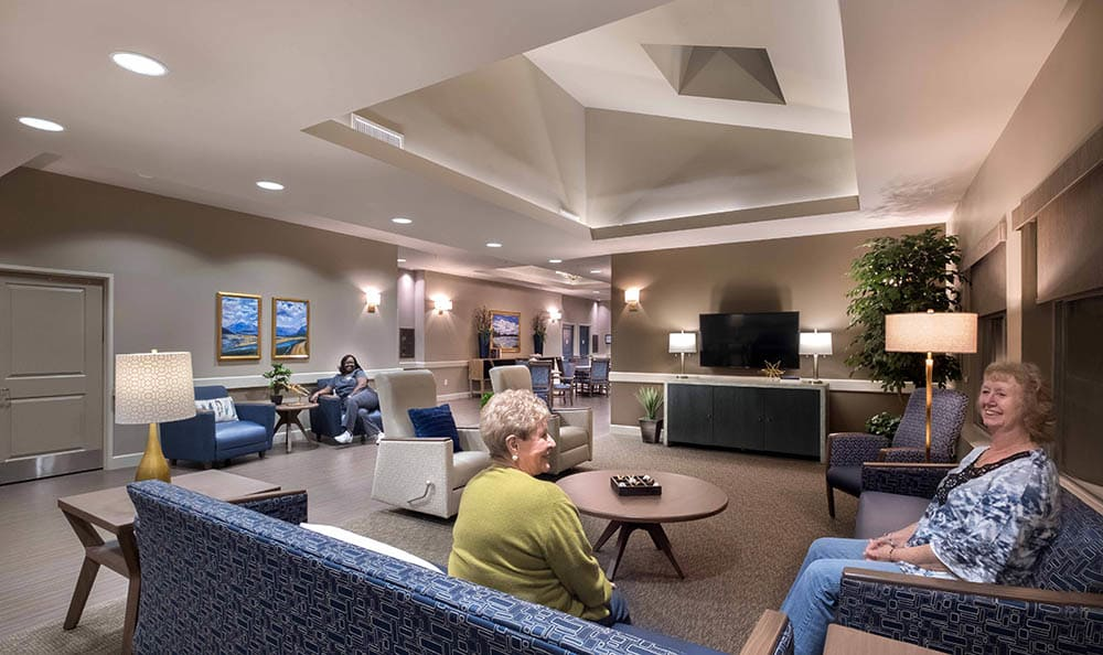 Living room at Surprise Memory Care