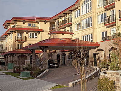 Exterior of Astoria Retirement Living