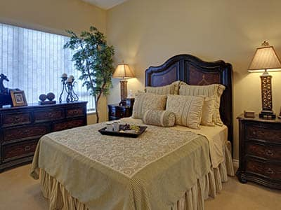 Bedroom at Astoria Retirement Living