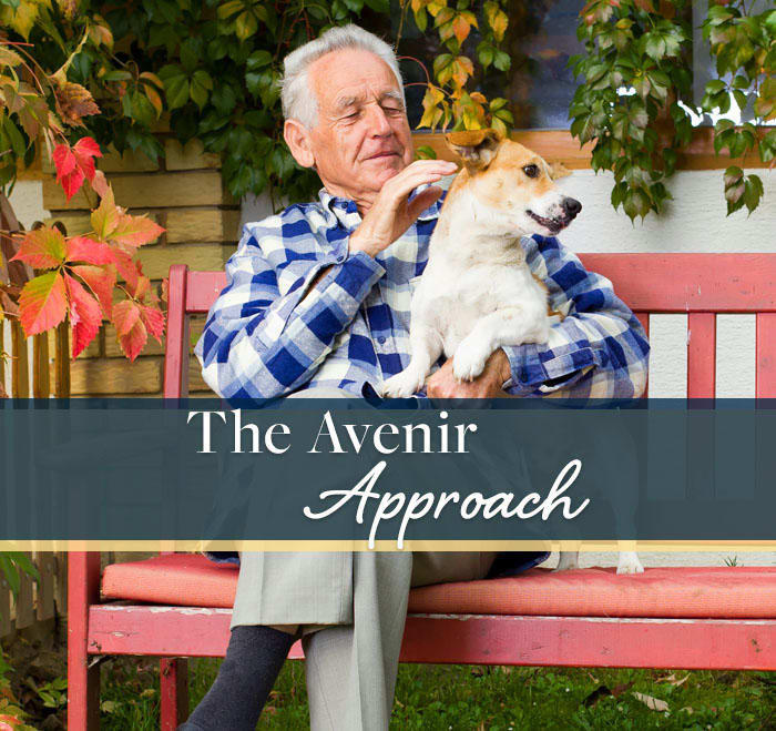 Learn about the Avenir approach to senior living