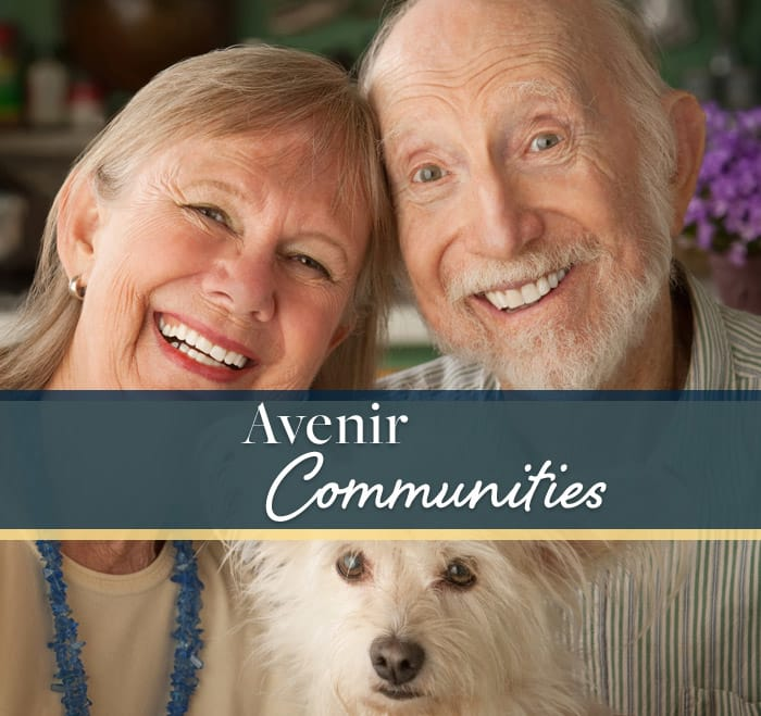 Find a senior living community with Avenir Senior Living