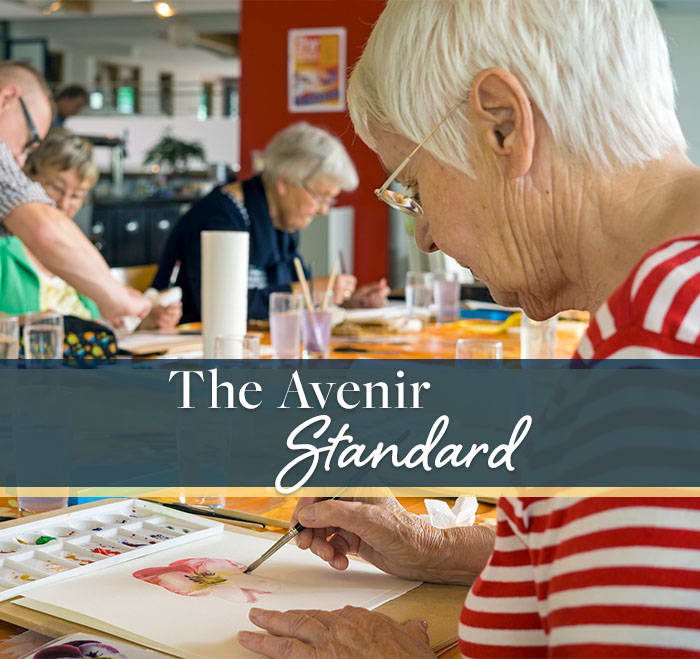 Learn about standards of care at Avenir Senior Living