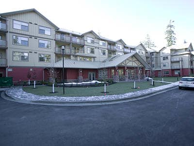 Exterior of Pacifica Senior Living