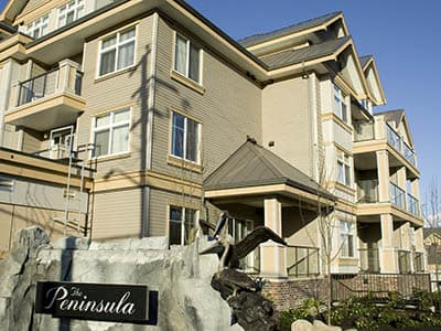 Exterior of Penninsula senior living