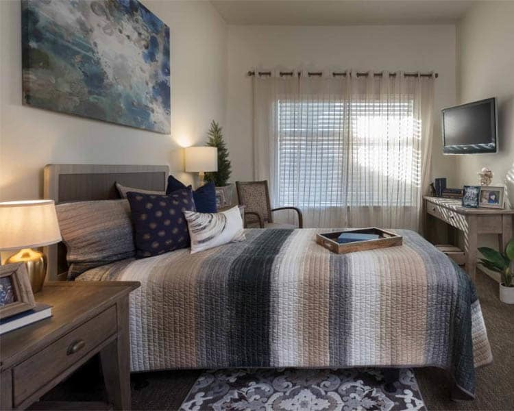 Private Bedroom at Scottsdale Memory Care