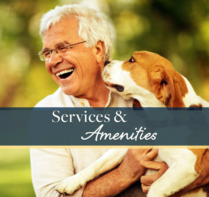 Discover the services and amenities available at Avenir Memory Care at Summerlin