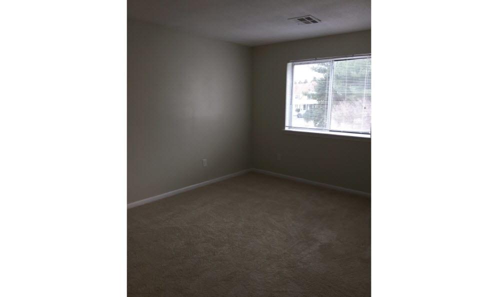Renovated bedroom at Briar Knoll