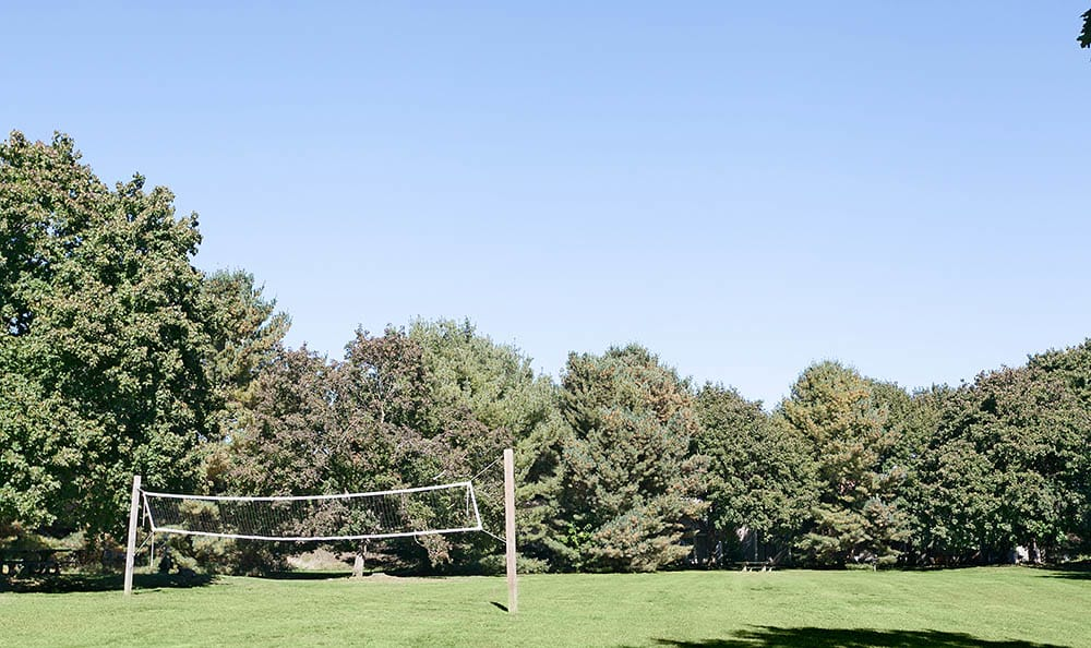 Volleyball At High Meadow