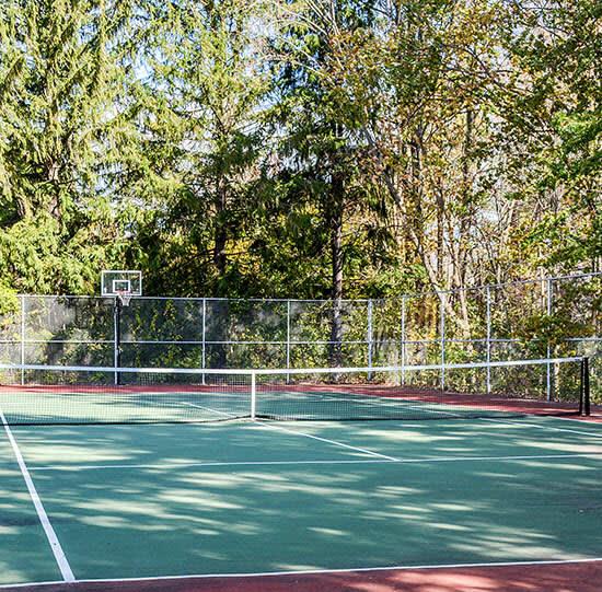 Tennis/Basketball courts at Navarino Property Group
