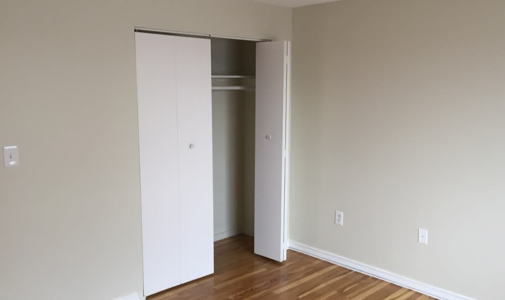 Renovated Bedroom at Summit and Birch Hill Apartments