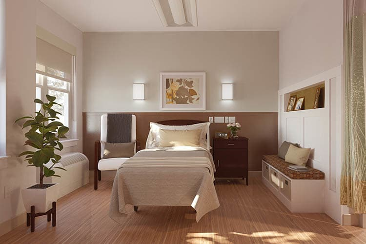 At Village Point Rehabilitation & Healthcare, we have the floor plan to suit your senior care needs