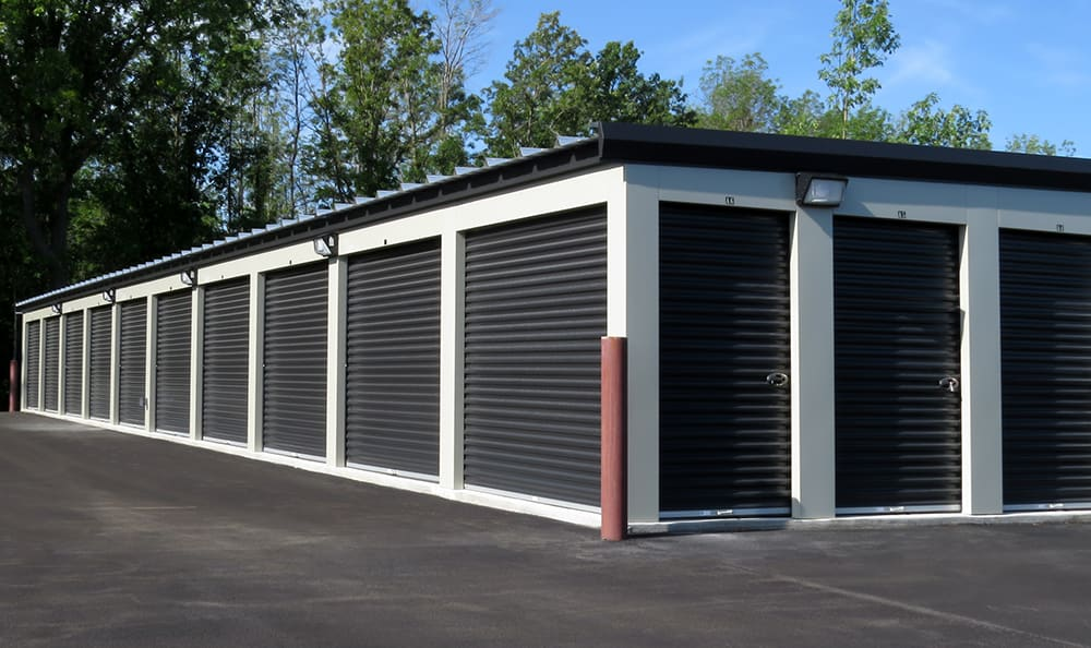 Exterior view of storage units in Saint Paul