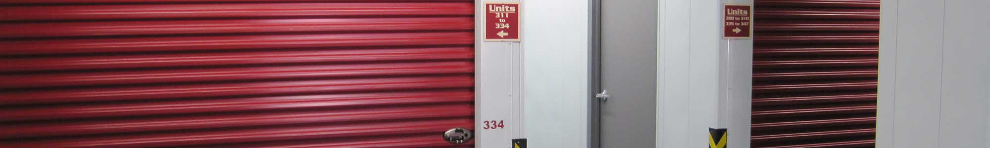 Contact us for your self storage needs in Rogers
