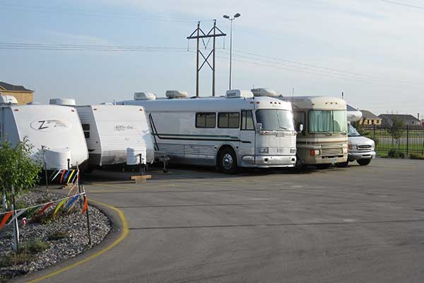 RV & Boat Parking at Five Star Storage.