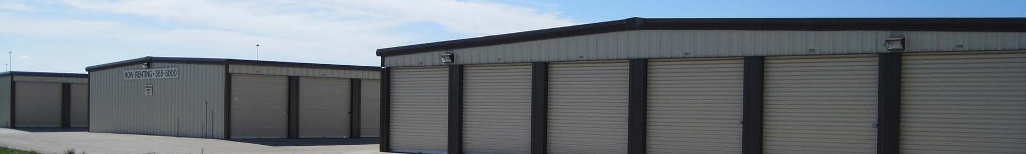 Self storage units in Fargo