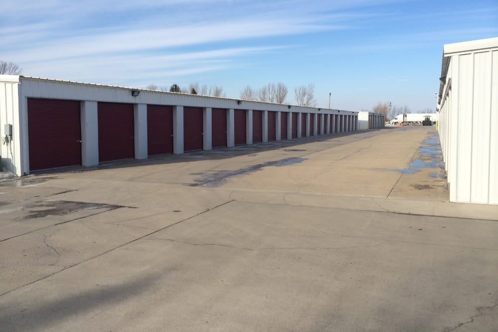 Secure gated units at Five Star Storage