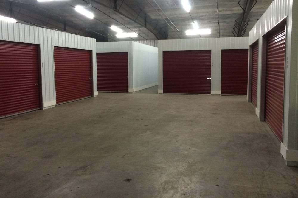 Spacious units at Five Star Storage