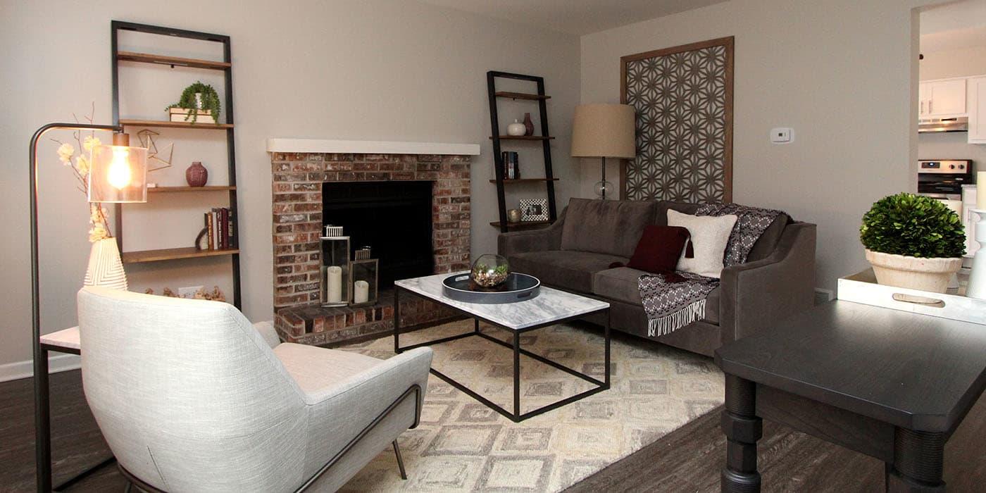 Aspen Place living room