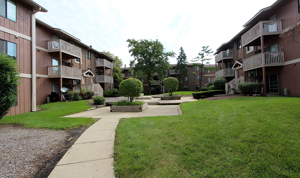 Exterior Of Apartments