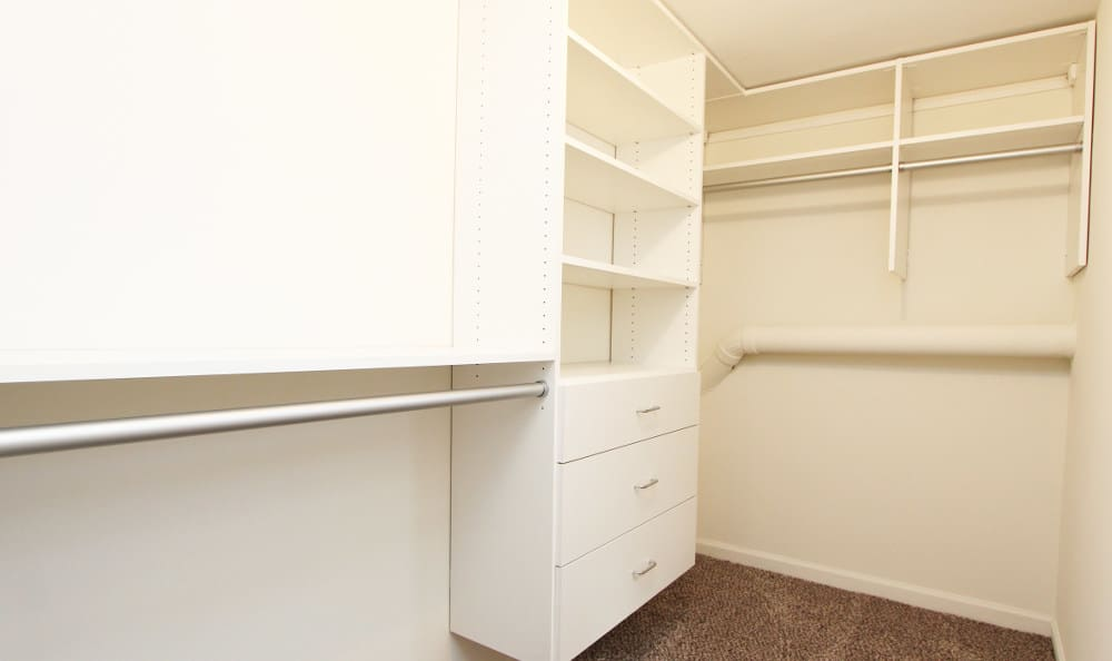 Closet at Cypress Place