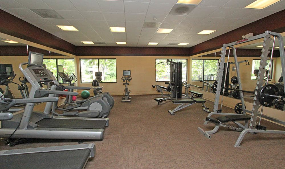 Exercise Area At Fieldpointe of Schaumburg