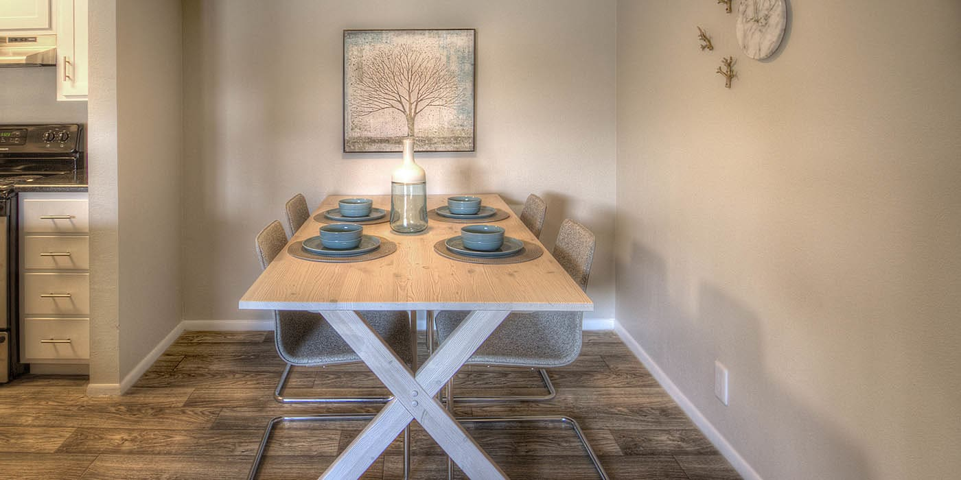 Dining area at Brighton Place in Midvale