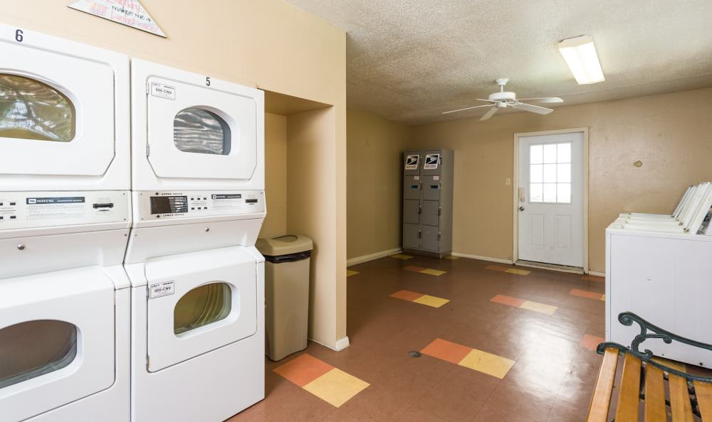 Laundry area at Woods of Elm Creek in San Antonio