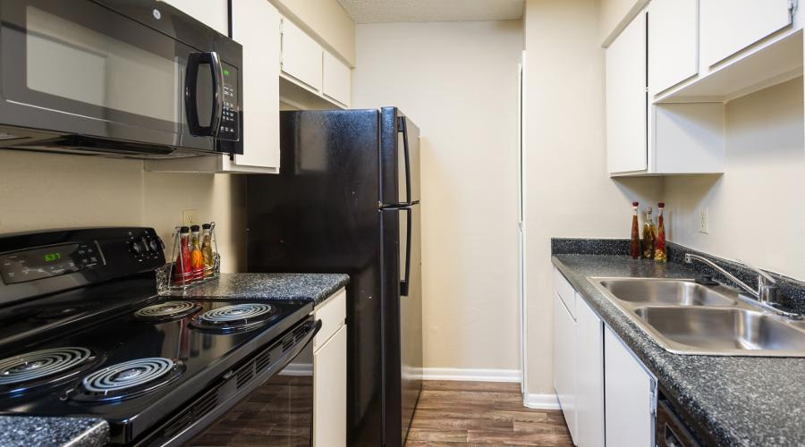 Woods of Elm Creek upgraded kitchen in San Antonio