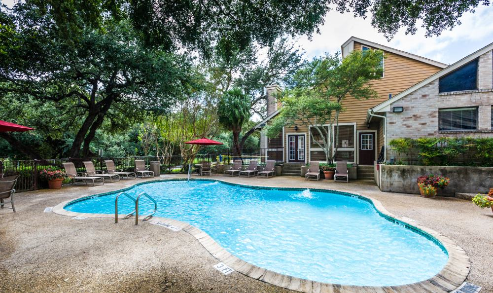 Pool at Woods of Elm Creek in San Antonio
